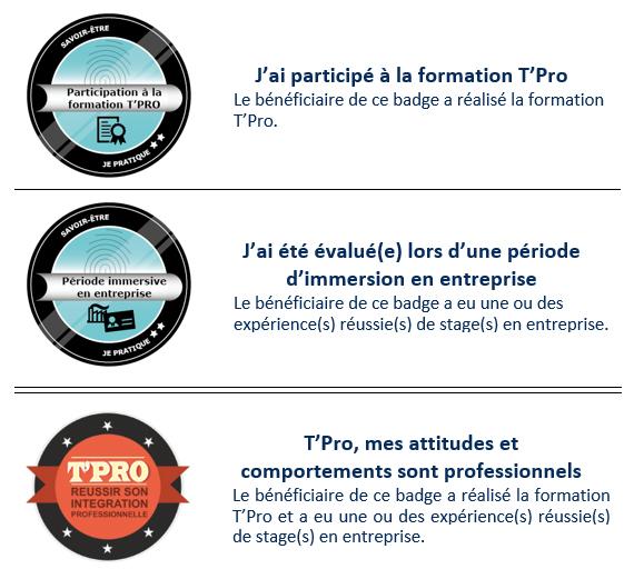 open badges T'Pro